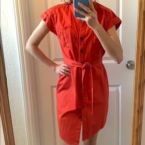 Kenneth Cole Reaction Shirt Dress size 2